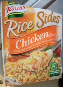 Knorr Rice Sides packet