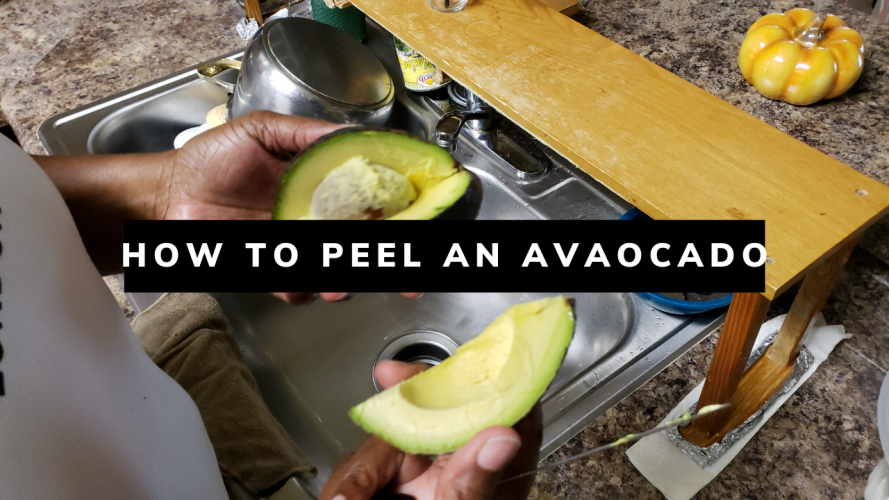 How To Peel an Avocado