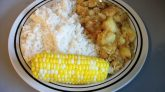 Jamaican Curry Chicken with White Rice